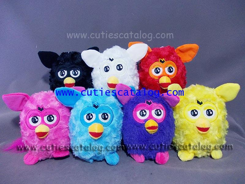 ตุ๊กตาเฟอร์บี้ Furby doll แบบผ้า