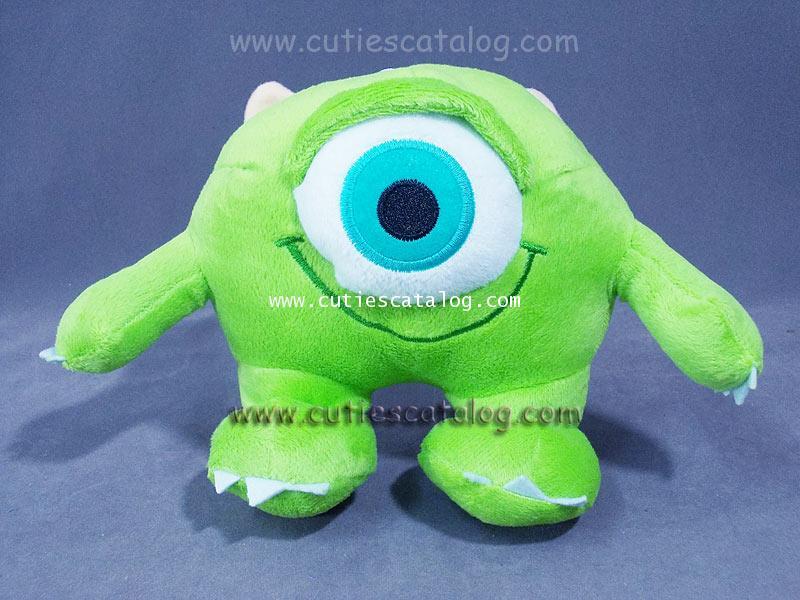 ตุ๊กตาไมค์ @ มอนเตอร์ อิงค์ Mike Wazaski Doll @ Monster Inc แบบ 2 ขนาด S