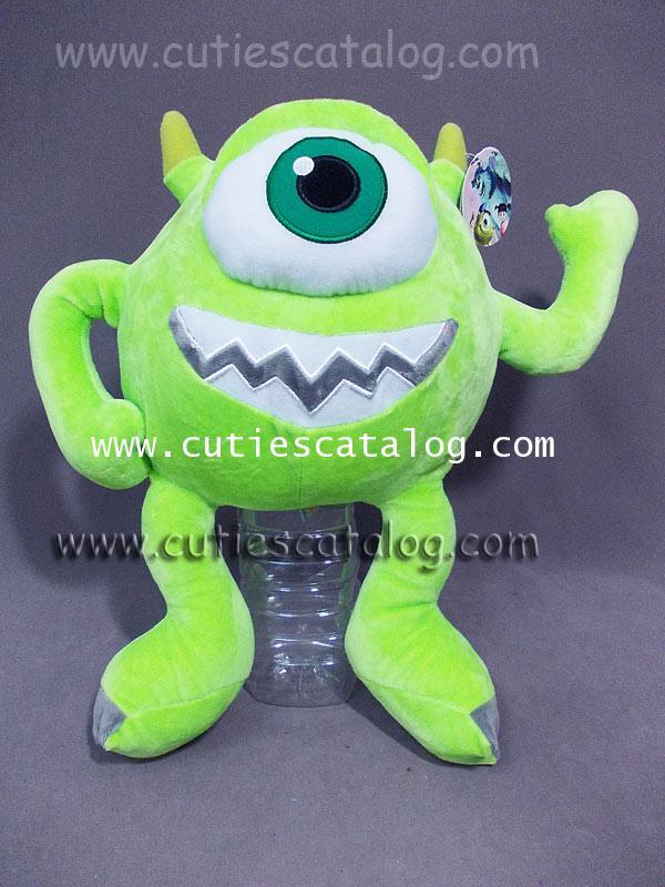 ตุ๊กตาไมค์ @ มอนเตอร์ อิงค์ Mike Wazaski Doll @ Monster Inc แบบ 2 ขนาด L