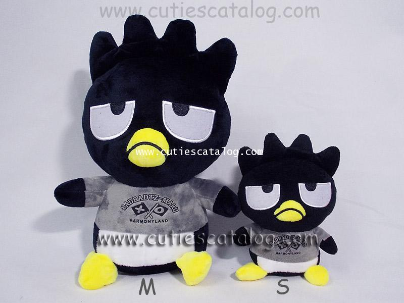 ตุ๊กตาแบ็ด แบ็ดซ์-มารุ Bad Badtz-Maru doll แบบ 3 ขนาด S