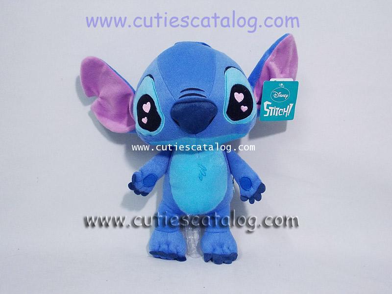 ตุ๊กตาสติช แบบยืน ตาหัวใจ ขนาด 12 นิ้ว(Stitch Doll)