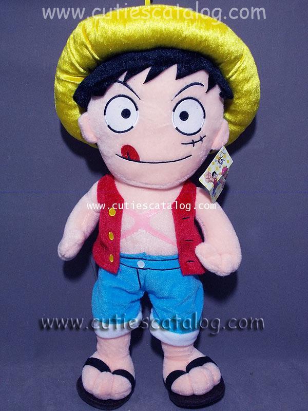 ตุ๊กตาลูฟี่ แบบยืน ขนาด L แบบ 2 ตุ๊กตาลูฟี่ Luffy @ จากเรื่องวันพีช One Piece