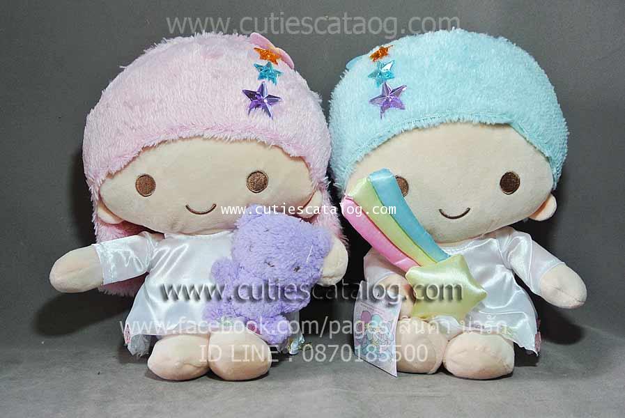 ตุ๊กตาลิตเติล ทวิน สตาร์ Little Twin Stars แบบ 2 ขนาด M