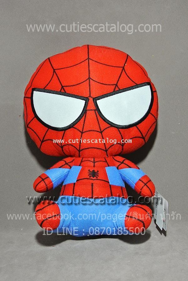 ตุ๊กตาสไปเดอร์แมน Spiderman แบบคิวตี้ 2 ท่านั่ง