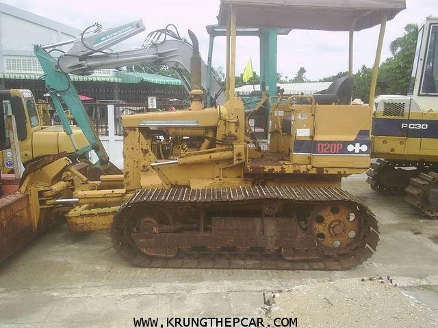 .ขาย รถดัน KOMATSU D20P รถแทร๊คเตอร์ ปรับหน้าดิน ผานเอียงปรับมุมได้6ทาง สภาพพร้อมใช้งาน $A13-P6PN