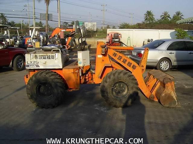 .ขาย รถตัก ขนาดเล็ก HITACHI LANDY LX20 รถตักเอวอ่อน ขับเคลื่อน 4 ล้อ ขายรถตักมือสอง $A13-S6AT