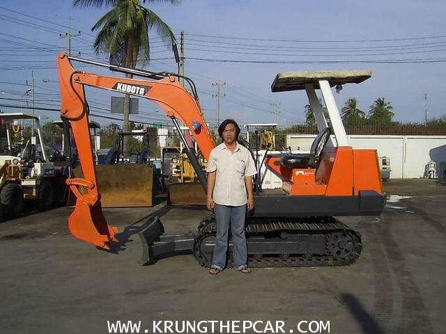 .ขายรถขุด แบคโฮ KUBOTA KH90 เป็นรถขุดขนาดเล็กนำเข้าจากญี่ปุ่น สภาพพร้อมใช้งานได้เลย$A13-