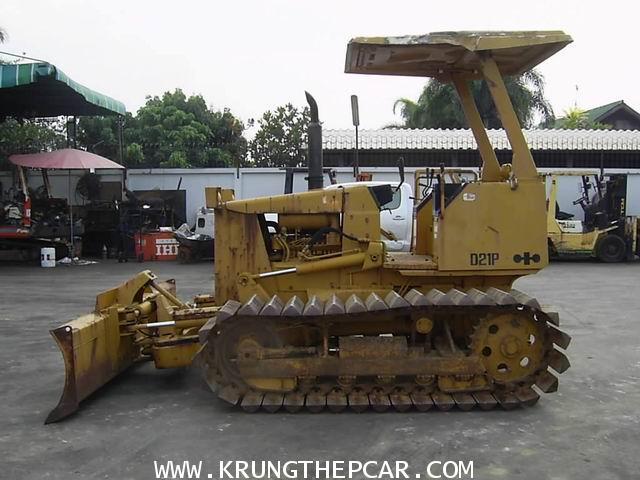 .ขาย รถดัน KOMATSU D21P-6 รถแทร๊คเตอร์ ปรับหน้าดินได้ ผานเอียงปรับมุมได้6ทาง ใช้งานได้เลย $A13-P6AI