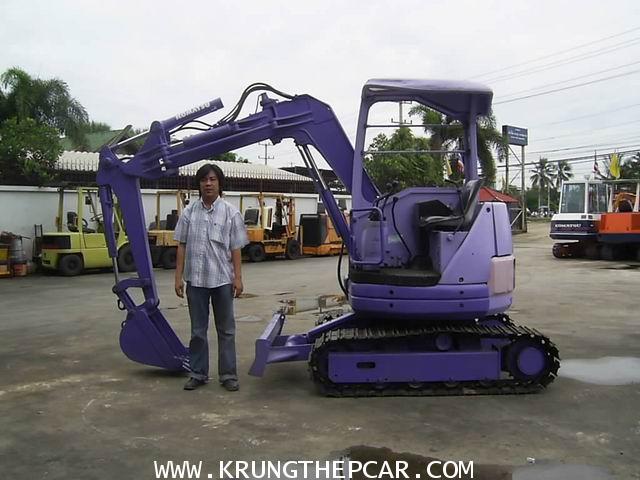 TWWIPQ รถขุดขนาดเล็ก KOMATSU PC28UU นำเข้าจากประเทศ ใช้งานได้ทันที แขนปรับได้ $A13-P6AI