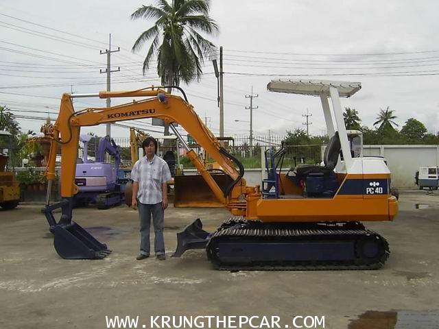 .ขาย รถขุด (แบคโฮ) KOMATSU PC40-5 สภาพพร้อมใช้งานได้ทันที นำเข้าจากต่างประเทศ $A13-P6SA