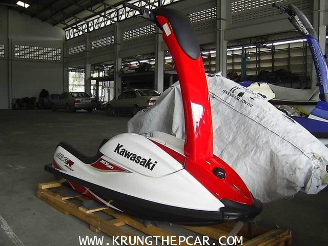 .ขายเรือยืน เจ็ทสกียืน KAWASAKI SXR800 สีแดง เรือใหม่ ไม่เคยลงน้ำเลย มีคู่มือพร้อม$A13-YWUS6AE