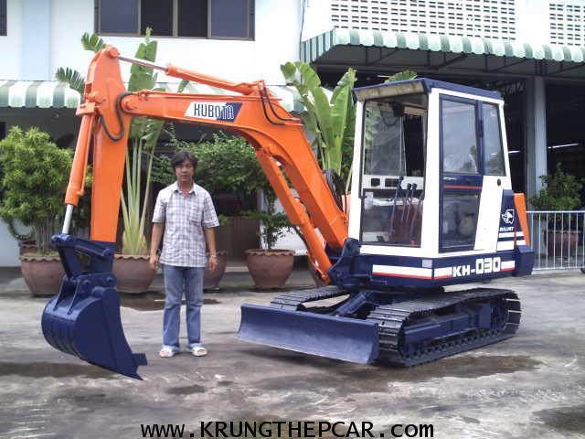 .ขาย รถขุด KUBOTA KH030 มีหัวเก๋ง ขนาดPC30 สภาพใช้น้อยมาก สวยจัด ทำงานเร็วเดินไว $A13-P6AT-