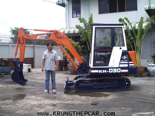 .ขาย รถขุด KUBOTA KH030 มีหัวเก๋ง ขนาดPC30 สภาพใช้น้อยมาก สวยจัด ทำงานเร็วเดินไว $A13-P6AT- 1