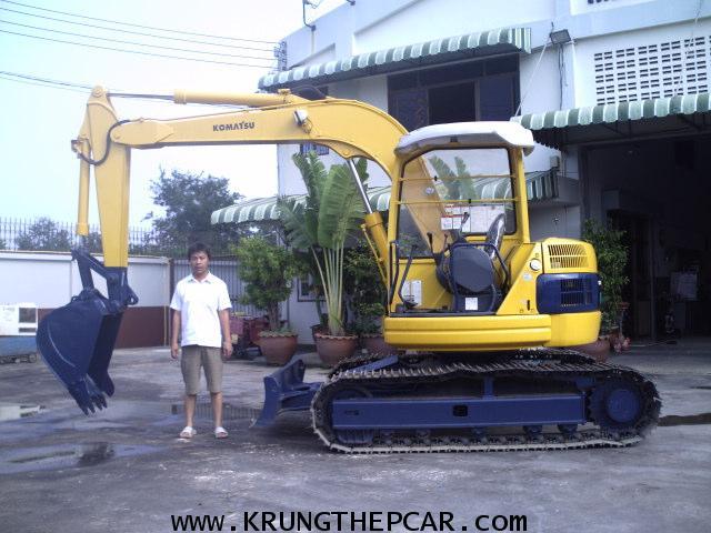 .ขาย รถขุด KOMATSU PC75 ปั๊มนิ้ว คอนโทรลน้ำมัน รถนอกนำเข้าจากต่างประเทศ พร้อมใช้ทันที$A13-P6TE-