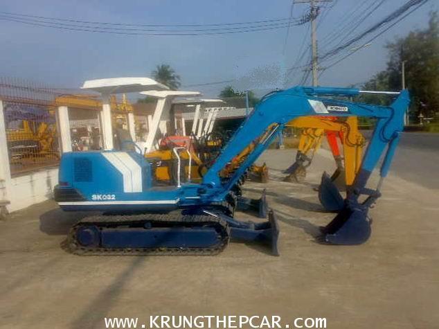 .ขาย รถขุดมือสอง KOBELCO SK032 TURBO ขนาด PC30 สภาพสวย พร้อมใช้งานได้ทันที $A27-P6AU-