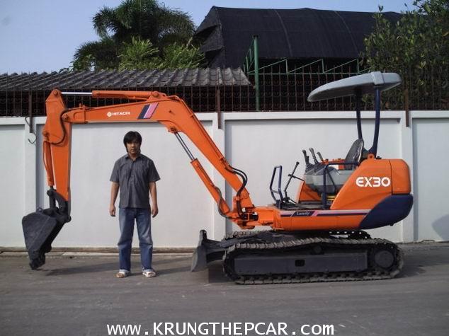 .ขายรถขุด HITACHI EX30 ตีนเหล็ก ขนาดPC30 เครื่องยนต์อีซูซุ สภาพสวยมาก พร้อมใช้งานได้ทันที  A25-P6SA