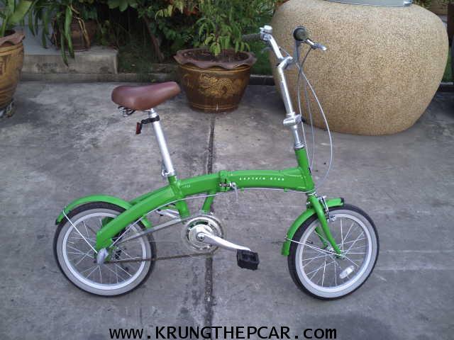 .ขาย รถ จักรยาน พับได้ ขาย จักรยาน อลูมิเนียมพับได้ ขนาด16นิ้ว น้ำหนักเบามาก มือสอง ญี่ปุ่น $A01-