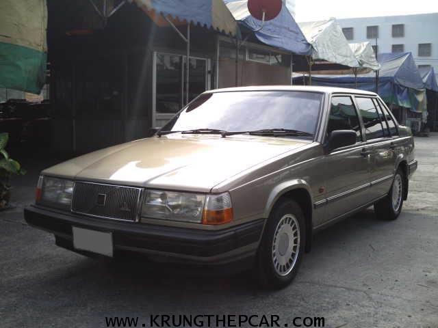 .ขายรถยนต์VOLVO 940GL 2.3GL ปี1994 สีบรอนซ์ทอง ออโต้ ไม่เคยติดแก๊ส ไม่เคยชน เจ้าของเดียวมือ1 $A02