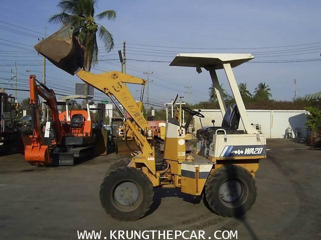 .ขาย รถตัก เอวอ่อน KOMATSU WA20 ขายรถตักล้อยางขับเคลื่อน 4ล้อ พร้อมใช้งาน ราคา $A13-P6SP-