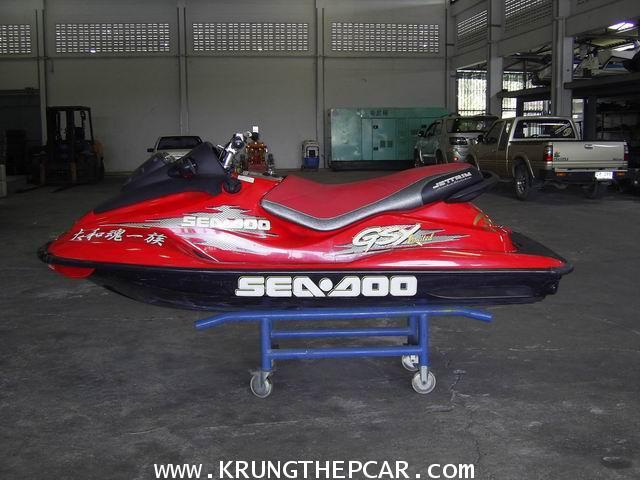 .ขายเรือ JETSKI SEADOO GSX เครื่องยนต์เบนซิน2จังหวะ 2สูบ 951cc ชุดแต่งรอบลำ $A13-P6PS-YNN