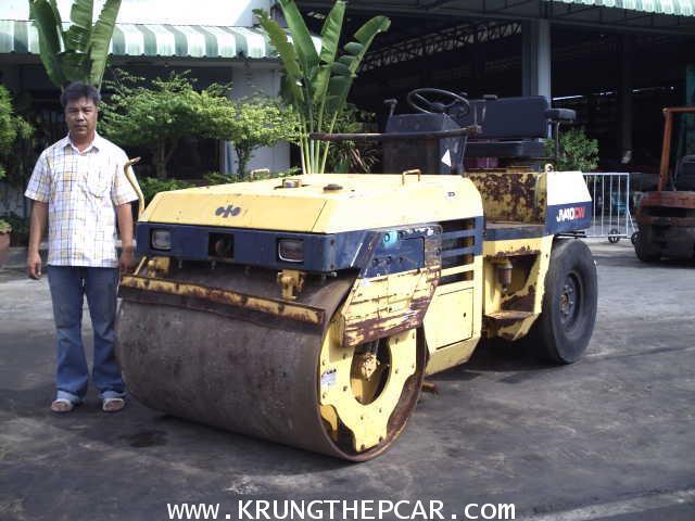 .ขาย รถบดถนน ขนาด4ตัน สั่นสะเทือนได้7ตัน KOMATSU JV40CW-2 สภาพเดิม สีเดิม นำเข้า $A13-P6SN:
