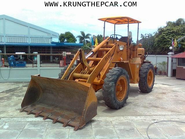 .ขาย รถตักล้อยาง ขายรถตัก FL60 4WD  ขับเลื่อน4ล้อ เครื่องISUZU C240 $A13P6IA