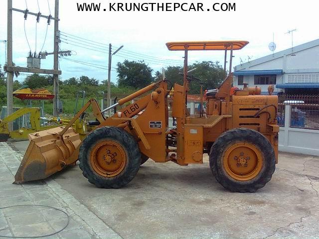 .ขาย รถตักล้อยาง ขายรถตัก FL60 4WD  ขับเลื่อน4ล้อ เครื่องISUZU C240 $A13P6IA 4