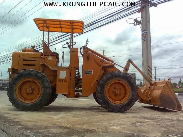 .ขาย รถตักล้อยาง ขายรถตัก FL60 4WD  ขับเลื่อน4ล้อ เครื่องISUZU C240 $A13P6IA 5