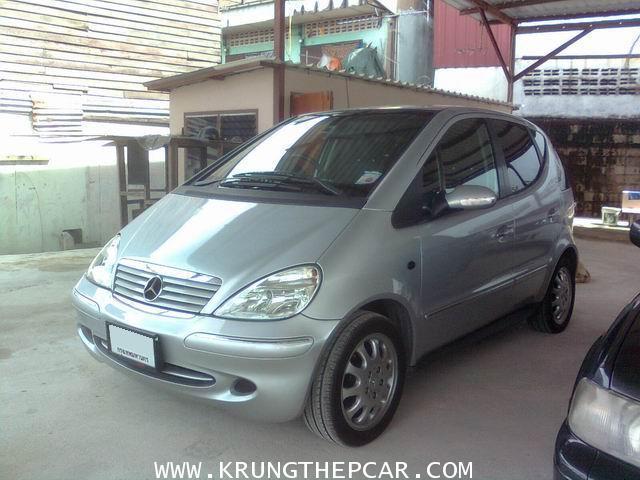 .ขายรถยนต์ BENZ A-CLASS A160 1.6AT 6AIRBAG 1600ซีซี  $A29-N6UA