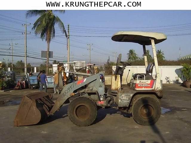 .ขาย รถตัก ขนาดเล็ก WS200A รถตักเอวอ่อนขนาดเล็ก ขับเคลื่อน4ล้อ   A13-P6ST