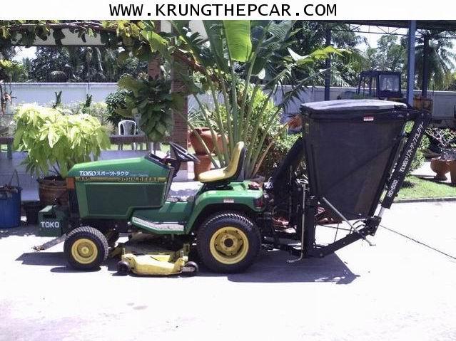 .ขาย รถตัดหญ้านั่งขับ เครื่องยนต์ดีเซล มีถังเก็บหญ้าขนาด400ลิตร เทหญ้าได้ $A27-N6PA-P6PU