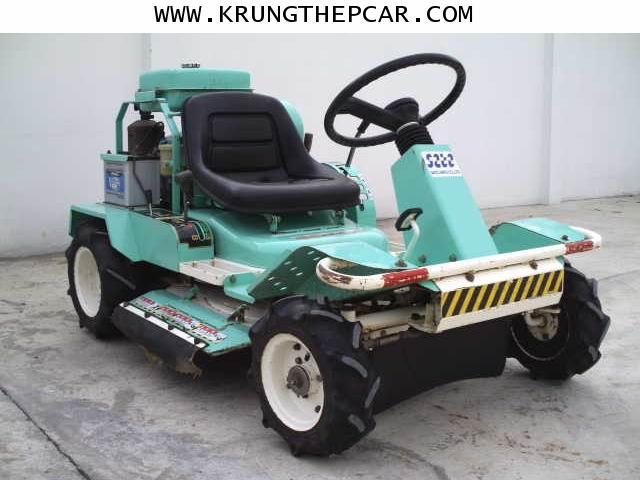 .ขาย รถตัดหญ้านั่งขับ ขนย้ายง่าย ใส่รถกระบะได้ เครื่องยนต์เบนซิน 4จังหวะ มือสองญี่ปุ่น ราคา $A01P5II