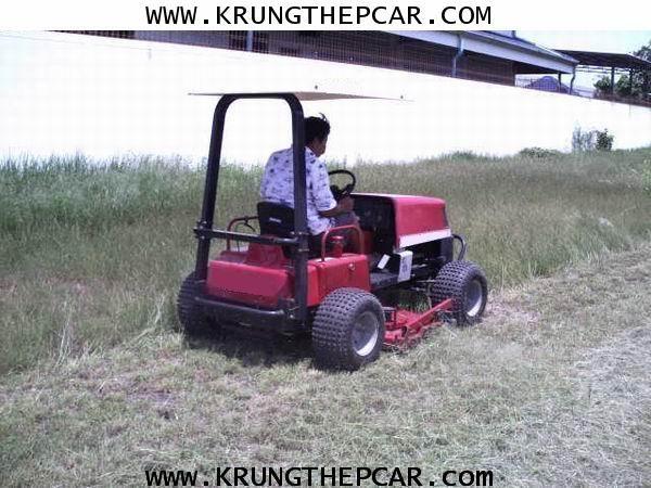 .ขาย รถตัดหญ้า นั่งขับ รถตัดหญ้ามือสอง เครื่องยนต์ดีเซล ขับเคลื่อน4ล้อได้2ล้อได้ 3ใบตัด ราคา$A13-N5U