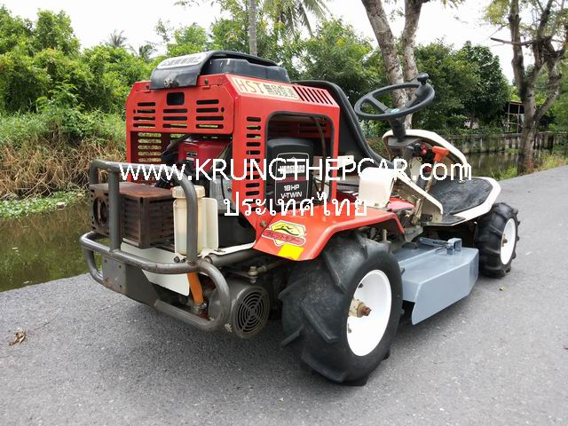 .ขาย รถตัดหญ้านั่งขับ 18 แรง รถตัดหญ้า ลุยป่า มือสองญี่ปุ่น สภาพดีมาก พร้อมใช้งานทันที P6PST-QWWEWI