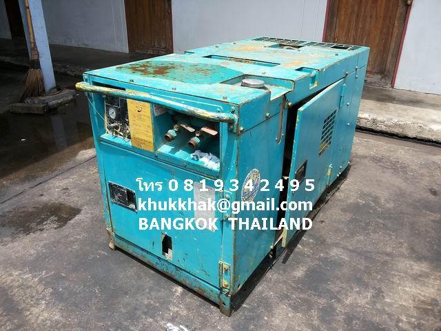 .ขาย ปั๊มลม เครื่องอัดอากาศ DENYO  PDS90  โทร 0 8 1 9 3 4 2 4 9 5