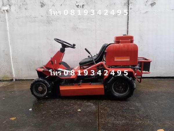 . ขาย รถตัดหญ้า นั่งขับ 16 แรง เครื่องยนต์เบนซิน 2 สูบ สภาพดี โทร 0 8 1 9 3 4 2 4 9 5