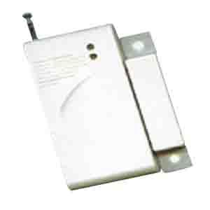 เซ็นเซอร์กันขโมยติดหน้าต่างประตู ป้องกันขโมย เป็น Contact สีขาวติดกับตัวประตูทุกแบบสัญญาณกันขโมยบ้าน