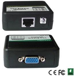 บาลัน VGA ด้วยสายแลนได้ ระยะไกลสุด 300 เมตร ราคาถูกคุณภาพดี ต่อ LCD LED จอคอมพิวเตอร์ได้