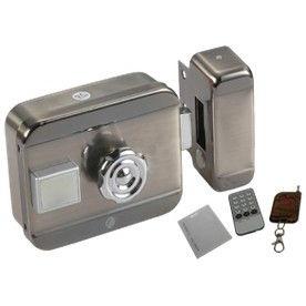 Electric motor lock การ์ด รีโมท กุญแจ Proximity card ติดตั้งแถมฟรี รีโมทควบคุมระยะไกล RFID remote