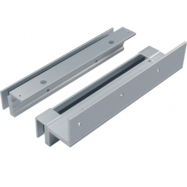 EM Lock Bracket DSU-600 ครอบกระจกสำหรับกลอนประตูไฟฟ้า ช่องว่าง น้อยกว่า 4 มิล ใส่ได้