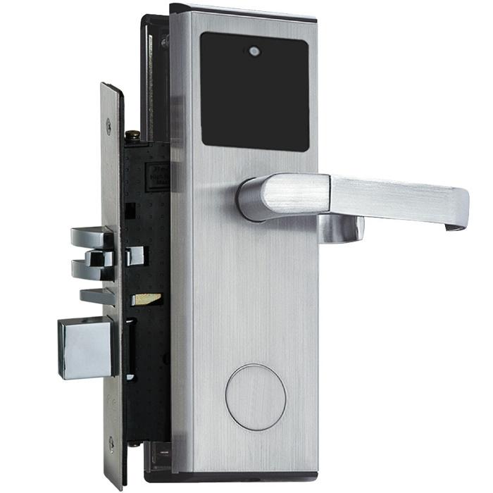 ประตูโรงแรม คีย์การ์ด รุ่น LK-8011-1 รับซ่อมแก้ไขโปรแกรมระบบ hotel door lock