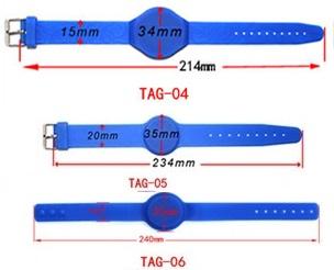 นาฬิกาซิลิโคน RFID Silicone 125K หรือ 13.56MHz