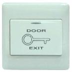 Switch Exit door สวิทช์พลาสติกสีขาวสำหรับกดเปิดประตูหอพัก