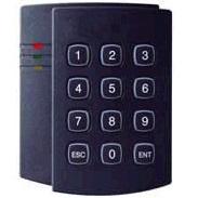 คีย์การ์ดมีปุ่มกดตัวเลขขนาดใหญ่พลาสติกชนิดพิเศษเนื้อแข็งทนทาน Keypad