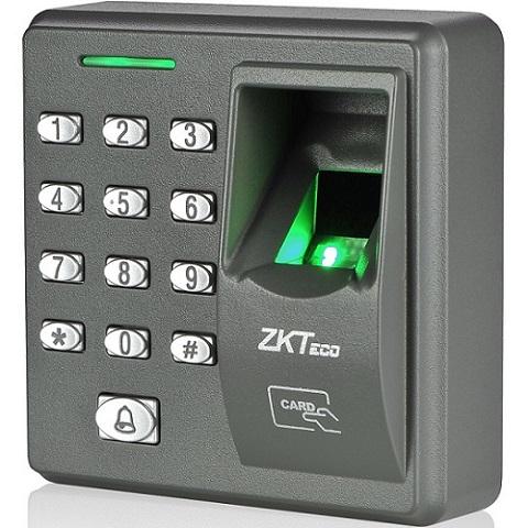 x7 scan fingerprint ZKSoftware เครื่องสแกนลายนิ้วมือและกดรหัสผ่าน
