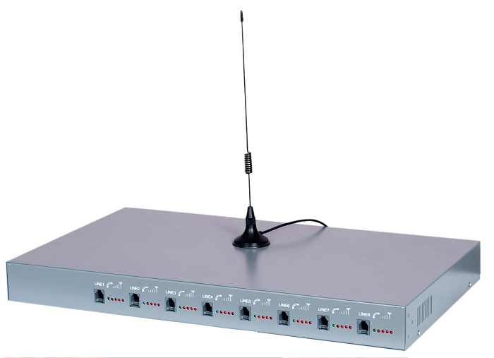 อุปกรณ์แปลงซิมมือถือเป็นโทรศัพท์บ้าน FWT gateway ประหยัดค่าใช้จ่ายโทรศัพท์ 8 เบอร์ ชุดใหญ่