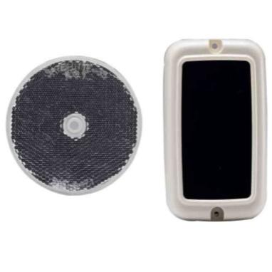 เซนเซอร์สะท้อนกระจกสำหรับไม้กั้นรถยนต์ ABO-5L (Retro reflective infrared detector) Active infrared B