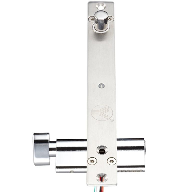 กลอนสลักไฟฟ้าล็อคทำงานเมื่อไฟดับ รุ่น 5-KC-LB600B มีกุญแจชนิดบางสำหรับประตูบางโดยเฉพาะ 2000 กิโล 450 1