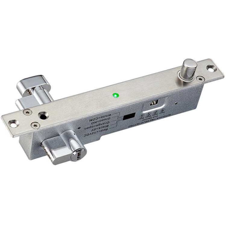 กลอนสลักไฟฟ้าล็อคทำงานเมื่อไฟดับ รุ่น 5-KC-LB600B มีกุญแจชนิดบางสำหรับประตูบางโดยเฉพาะ 2000 กิโล 450 3