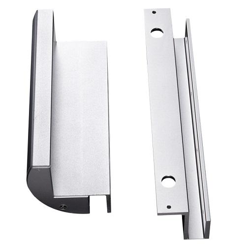 ชุดครอบกระจกบานเปลือยแม่เหล็กคีย์การ์ด 600ปอน์ด ใช้งานได้กับกระจกที่มีช่องว่างห่างประมาณ 1 เซนติเมตร 1